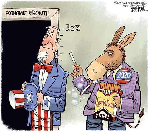 jpg Political Cartoon: Stunt Your Growth