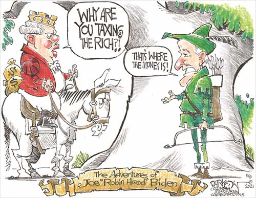 "jpg Political Cartoon: Joe ""Robin Hood"" Biden"