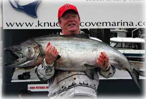 photo 56.8 pound King Salmon