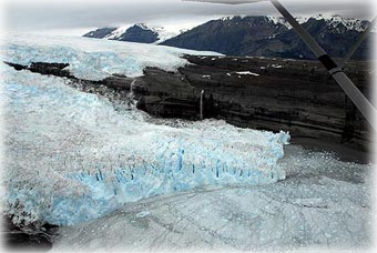 Icy Bay glaciers...
