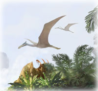 Scientists discover track of soaring prehistoric creature