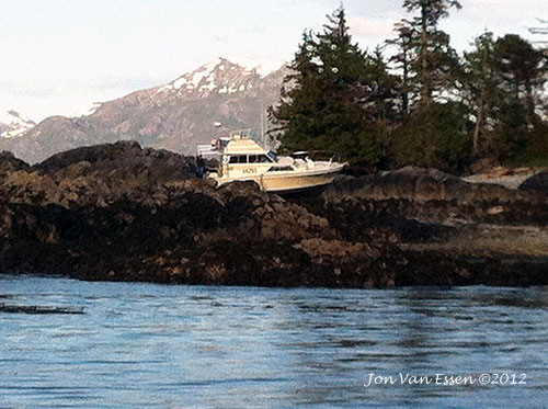 jpg Charter Boat hits Rock Near Ketchikan