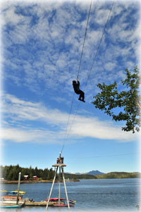 "Ocean Zip"" Offers New Zipline Adventure"