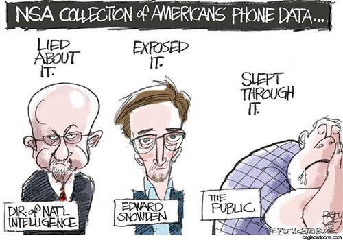 jpg Political Cartoon: NSA Phone Data