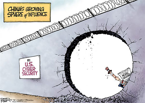 jpg Political Cartoon: Hacking Hole