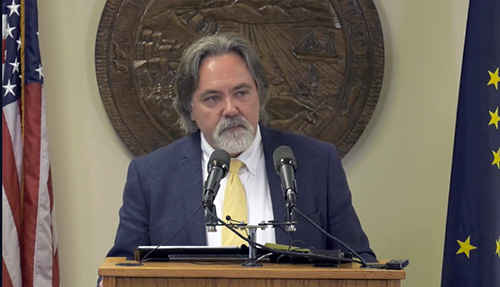 jpg Alaska Department of Revenue Commissioner Randal Hoffbeck