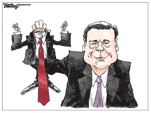 jpg Editorial Cartoon: COMEY