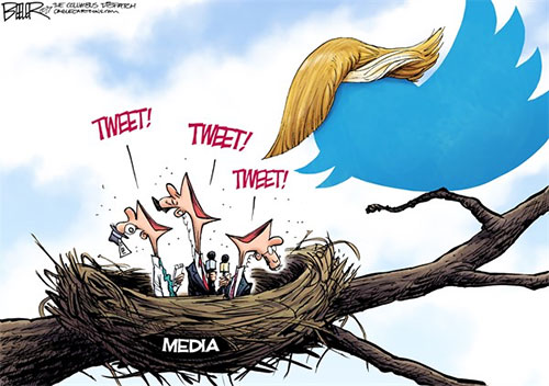 jpg Editorial Cartoon: Tweety Birds