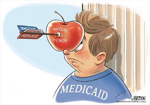 jpg Editorial Cartoon: The Republican Legend of William Tell