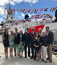 Coast Guard Cutter John McCormick transfers command in Ketchikan