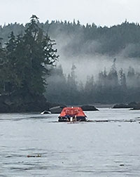 Coast Guard rescues 7 after vessel sinks in Thorne Bay