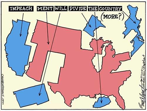 jpg Political Cartoon: Impeachment Divide