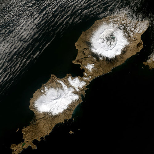 Eruption of Alaska's Okmok volcano linked to mysterious period of extreme cold in ancient Rome