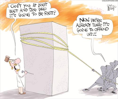 jpg Political Cartoon: Canceled Statues