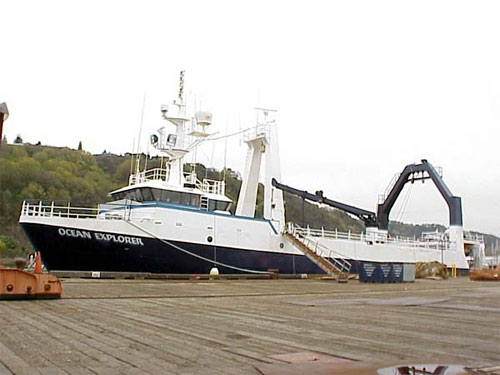 Sitnews scientists depart for month long expedition into for Ocean explorer fishing