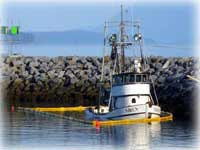 Coast Guard responds to grounded vessel in Wrangell Harbor