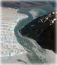 Are Alaska's glaciers growing?