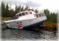 Coast Guard responds to vessel aground south of Ketchikan