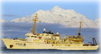 NOAA Ship Fairweather Maps Aid Shipping Through Bering Straits