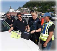 Grant Funding Puts Lifesaving Equipment at the Port of Ketchikan and in KPD Cruisers -