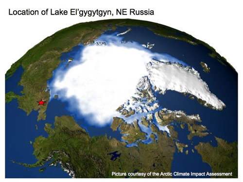 jpg Remote Siberian Lake Holds Clues to Arctic  and Antarctic Climate Change