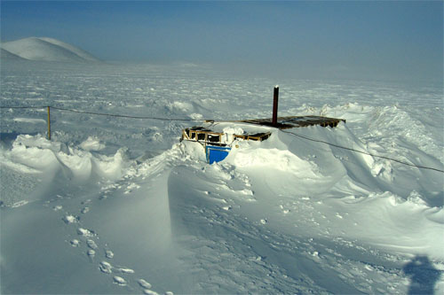 """jpg Keys to climate change lie buried beneath """"Lake E"""" in the Russian Arctic"""