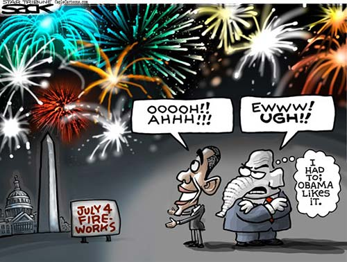 jpg Political Cartoon: July 4th Fireworks