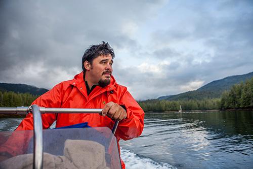 jpg Hydaburg Leader Honored for Salmon Conservation