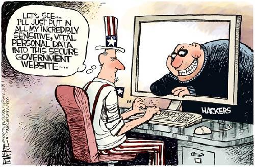 jpg Political Cartoon: Hackers