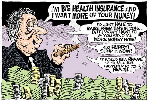 jpg Political Cartoon: Health Insurance Rate Increase