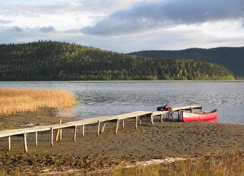 jpg Quartz Lake in Interior Alaska.