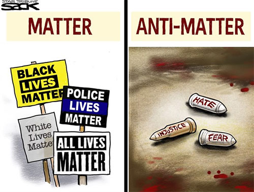 jpg Editorial Cartoon: All Lives Matter