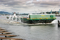 Alaska Marine Lines launches new barge to serve Southeast Alaska