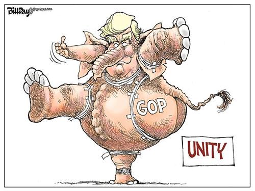 jpg Editorial Cartoon: GOP UNITY