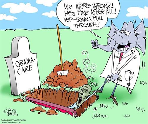 jpg Editorial Cartoon: GOP Saves Obamacare