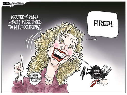 jpg Editorial Cartoon: WASSERMAN SCHULTZ
