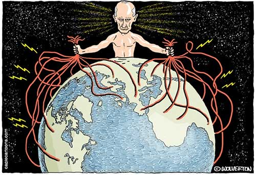 jpg Political Cartoon: Putin Hacks the Planet