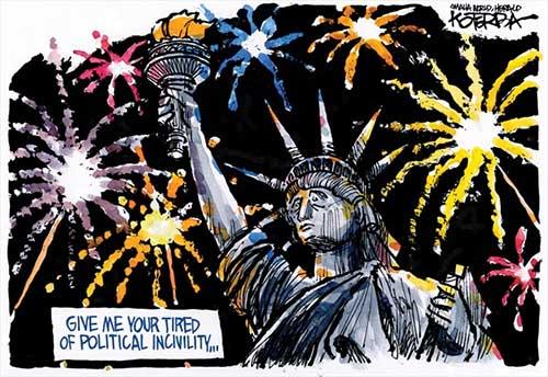 jpg Political Cartoon: A 4th of July Wish