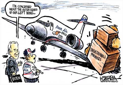 jpg Political Cartoon: Dem Air Now Boarding