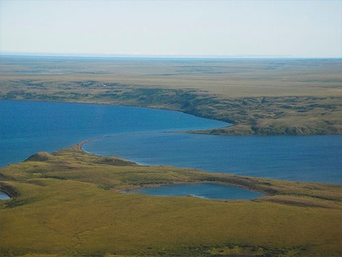 Volcanoes, permafrost, earthquakes shape Alaska