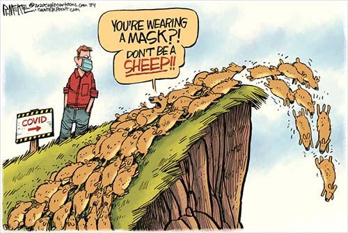 jpg Political Cartoon: Covid Lemmings