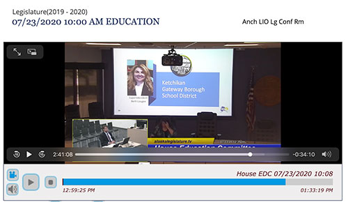 jpg Click on the graphic to listen to the 3 hour Education Committee hearing