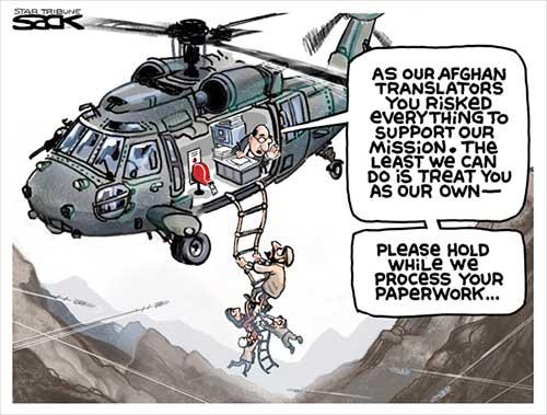 jpg Political Cartoon: Afghan Exit