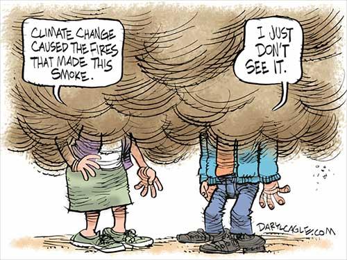 jpg Political Cartoon: Smoke and Climate Change