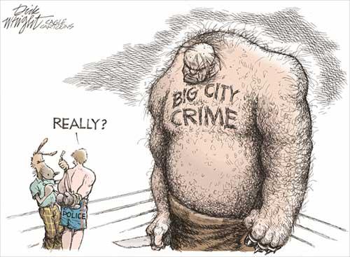 jpg Political Cartoon: Crime Thug Match