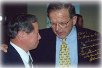 A friend remembers Ted Stevens' advocacy for Alaska science