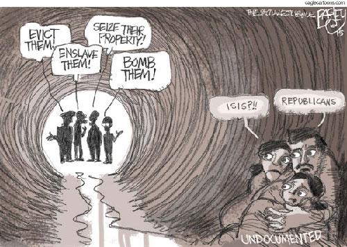 jpg Political Cartoon: GOP Immigrant Solution