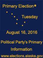 Alaska Primary Election - August 16, 2016