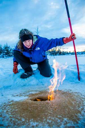 jpg Study measures methane release from Arctic permafrost