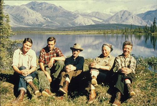 jpg Bob Krear took this photograph at a camp near the Sheenjek River in 1956.